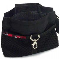Black Dog Treat Pouch Regular with Belt